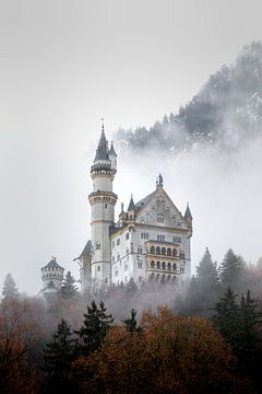 Schloss Neuschwanstein in Bayern von Emile Kaihatu