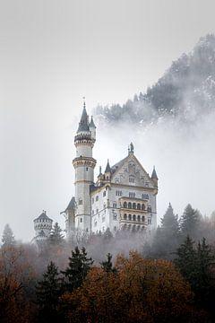 Château de Neuschwanstein en Bavière sur Emile Kaihatu