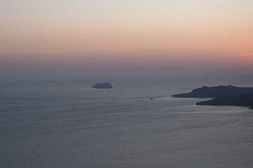 Santorini View von Lena Weisbek