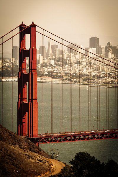 Golden Gate Bridge van Jan Schuler