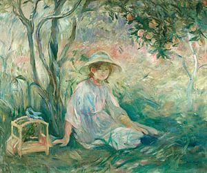 Unter dem Orangenbaum (Sous l'oranger), Berthe Morisot