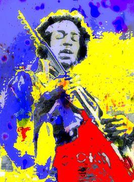 Jimi Hendrix van Brian Raggatt