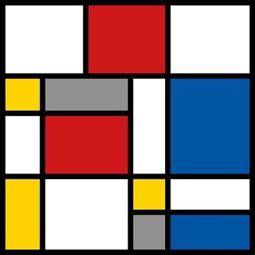 Mondriaan 4x4 van Harry Hadders
