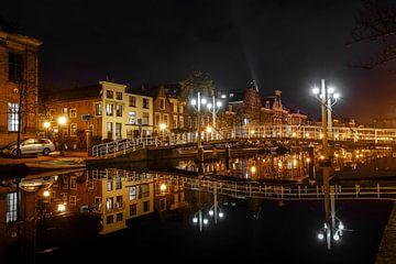 Oude Singel Leiden van Dirk van Egmond