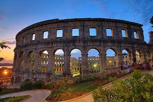 De Romeinse Arena van Pula van