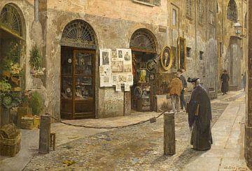 Arturo Ferrari~In der Alten Straße (San Bernardino alle Ossa in Mailand)