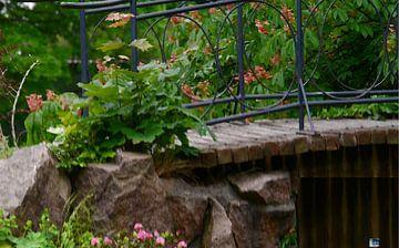 Brücke in der Wallanlage van Peter Norden