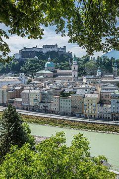 SALZBURG Wunderschöner Blick auf die Altstadt  von Melanie Viola