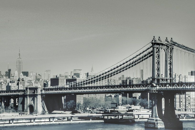 Manhattan bridge van Erik Wennekes