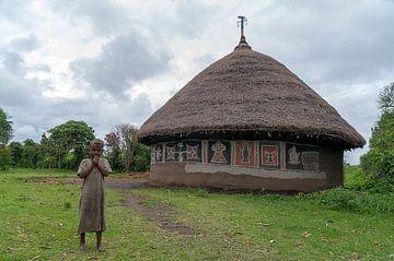 Bode Ameda: Landelijk huis van Maarten Verhees