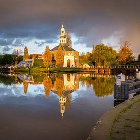 Zijlpoort in Leiden von Martijn van der Nat