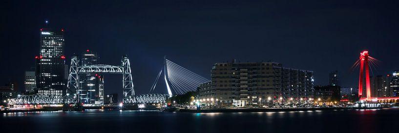 Waterfront Rotterdam van Theo Peekstok