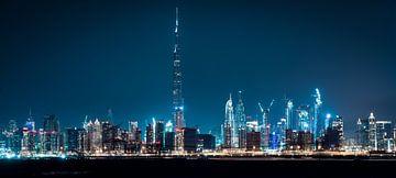 Dubai Skyline sur Dennis Wierenga