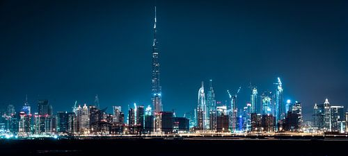 Dubai Skyline van