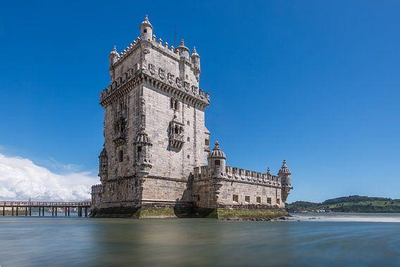 Torre de Belém in Lissabon van MS Fotografie