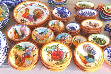 Portugees aardewerk van Inge Hogenbijl
