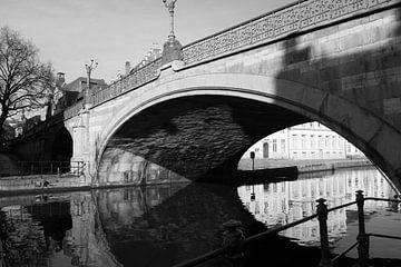 Brücke in Gent von Carole Clément