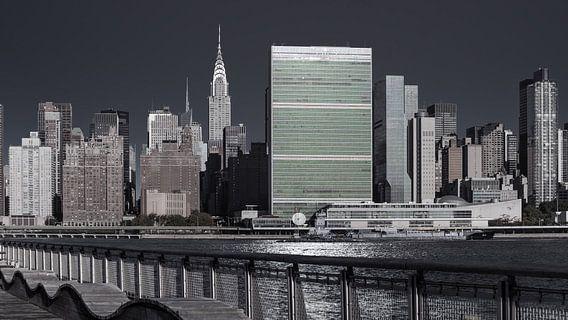 United Nations Headquarter    New York van Kurt Krause