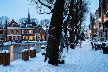 Winterlandschaft in Spaarndam von Manuuu S