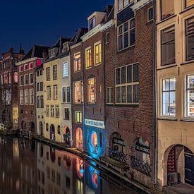 De gracht van Utrecht van Dennisart Fotografie