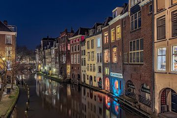 Der Kanal von Utrecht von Dennisart Fotografie