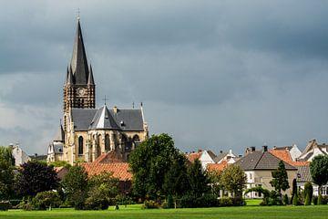 Kerk en landschap van Thorn van Leo Langen