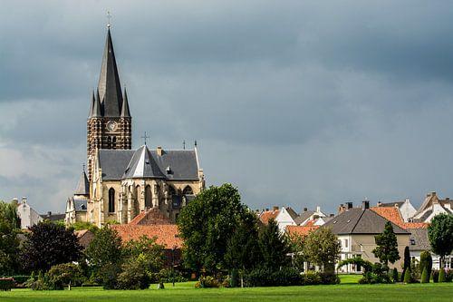 Kerk en landschap van Thorn van