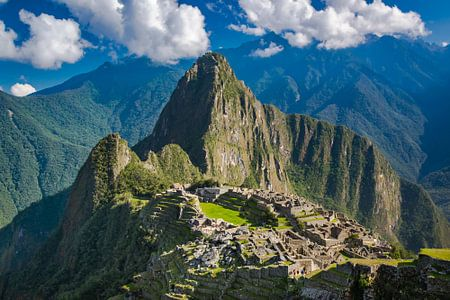 Vue de la ville cachée de Machu Picchu, au Pérou