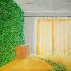 Living Wallpaper van Silvian Sternhagel