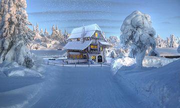 little house-snow van H.m. Soetens