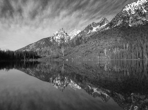 Bergketen Grand Teton National park Verenigde Staten  van