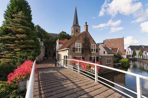 De Kerkstraat in Maasland