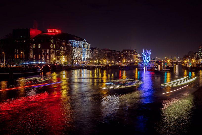 Amsterdam Light Festival 2016 van John Bouma