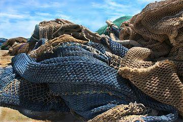 Fishing nets van Herbert Seiffert