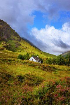 Lagangarbh-Hütte in Glencoe, Schottland von Pascal Raymond Dorland