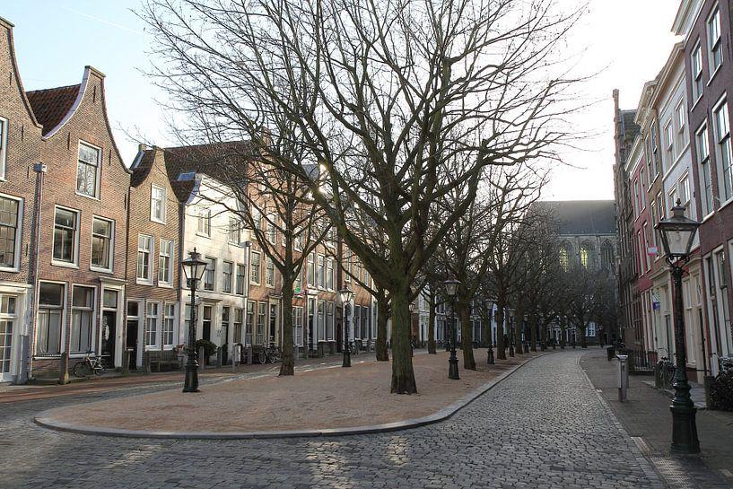Hooglandse Kerkgracht Leiden van Carel van der Lippe