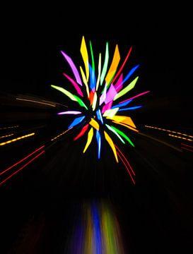 Kleuren explosie van Orhan Sahin
