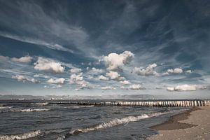 Wolken boven de Westerschelde