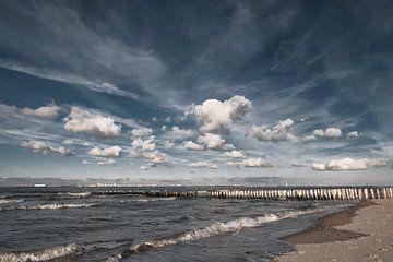 Wolken boven de Westerschelde van Ellen Driesse