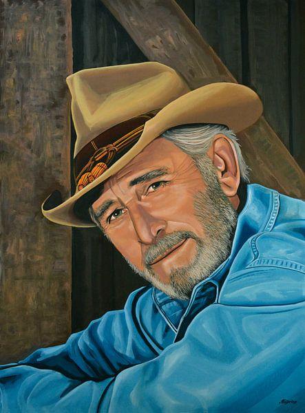 Don Williams schilderij van Paul Meijering