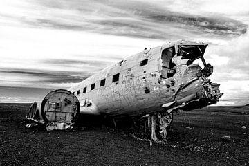 DC-3 Flugzeugwrack auf Island von Robert Styppa