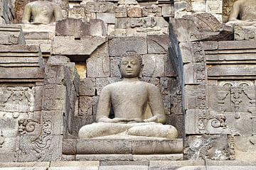 Buddha Borobudur van Eduard Lamping