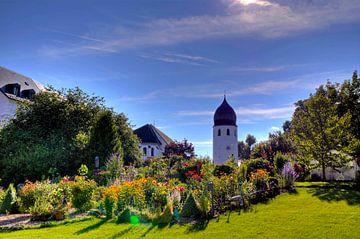 Tuin op de Fraueninsel aan de Chiemsee van Roith Fotografie