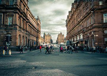 Straten van Edinburgh - Schotland van Thijs van Beusekom