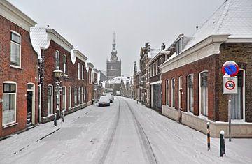 Winter / Overschiese Dorpsstraat / Overschie van Rob de Voogd