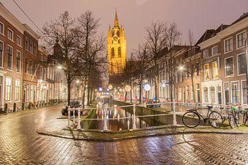 Oude Delft te Delft 1 sur Ad Van Koppen