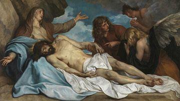 Klage Christi, Antonius von Dyck