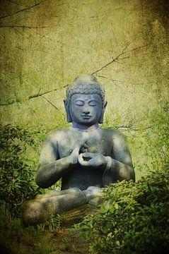 Großer Buddha Quelle der Ruhe und der Entspannung von Tanja Riedel