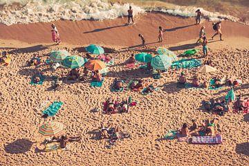 Op het strand - Portugal van FOTOFOLIO.DE