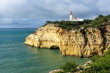 Farol de Alfanzina: vuurtoren in de Algarve